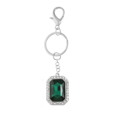 Monet Jewelry Emerald Key Chain