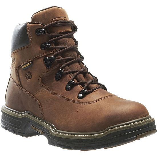 Wolverine Mens Marauder Waterproof Slip Resistant Insulated Work Boots