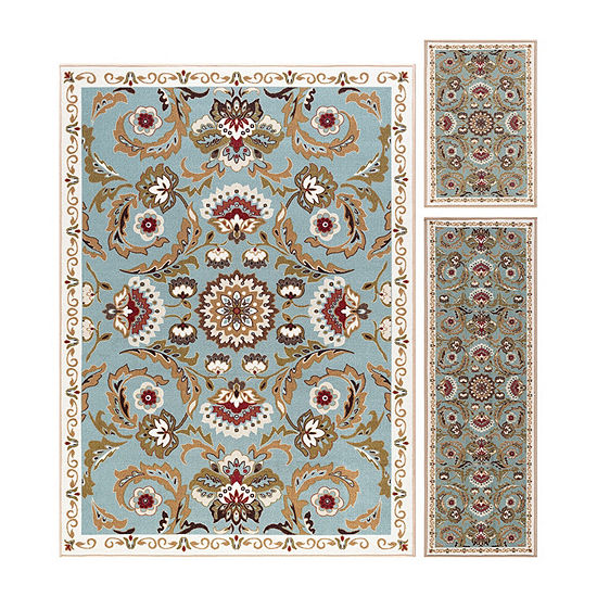 Tayse Majesty Greta 3-pc. Rug Set