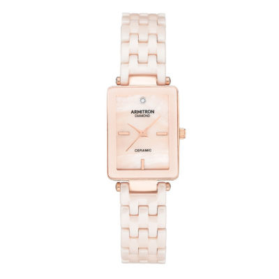 Armitron Unisex Rose Goldtone Bracelet Watch-75/5613bmrg