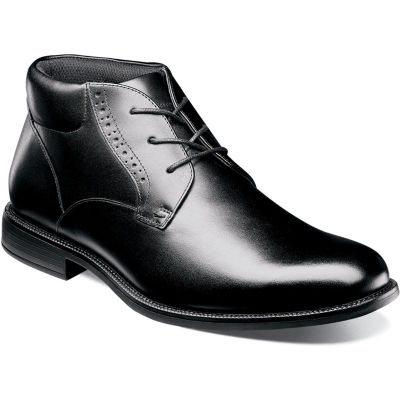 Nunn Bush Mens Chukka Boots Flat Heel Lace-up