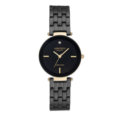 Armitron Unisex Gold Tone Bracelet Watch-75/5614bkgp