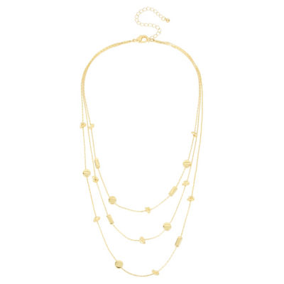 Worthington Womens Illusion Necklace