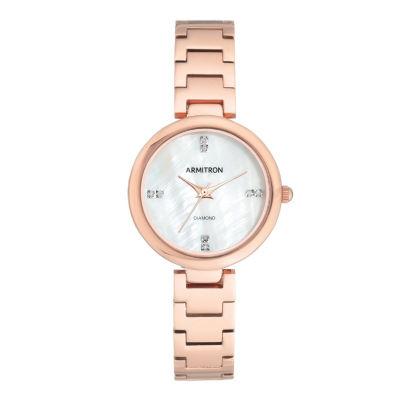 Armitron Unisex Rose Goldtone Bracelet Watch-75/5618mprg