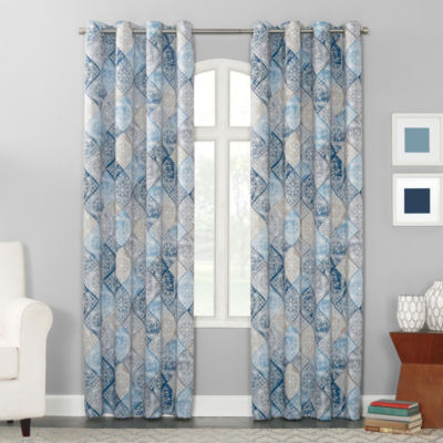 Sun Zero™ Dacona Grommet-Top Curtain Panel