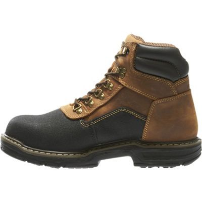 Wolverine Mens Corsair Lace Up Waterproof Slip Resistant Work Boots Lace-up
