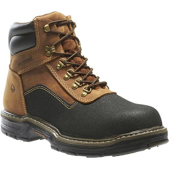 Wolverine Mens Corsair Waterproof Slip Resistant Work Boots