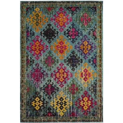 Safavieh Monaco Collection Flint Geometric Area Rug