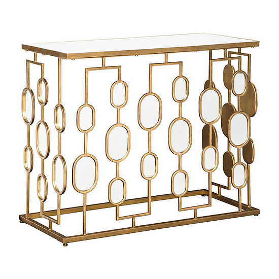 Signature Design by Ashley® Majaci Mirrored Console Table