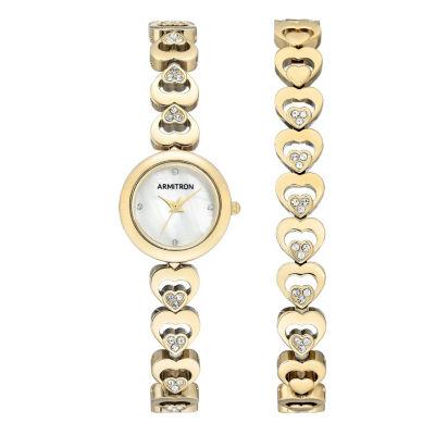 Armitron Unisex Gold Tone Bracelet Watch-75/5628mpgpst