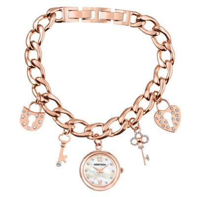 Armitron Unisex Rose Goldtone Bracelet Watch-75/5620mprg