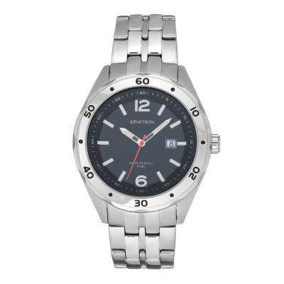 Armitron Unisex Silver Tone Bracelet Watch-20/5253bksv