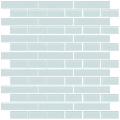 Brewster Wall Sea Glass Peel & Stick Backsplash Tiles Wall Decal