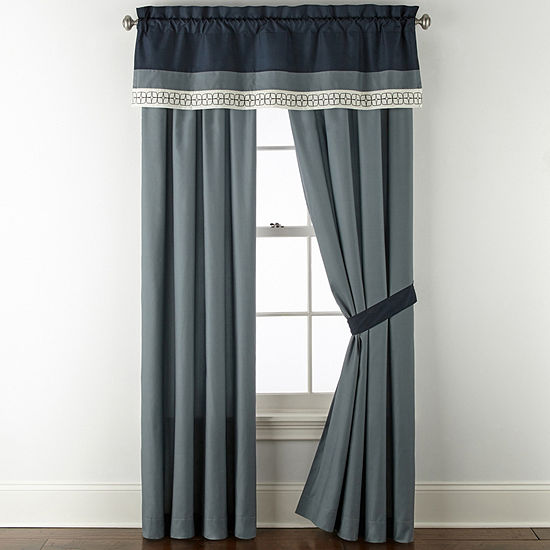JCPenney Home Emmett Rod-Pocket Curtain Panel