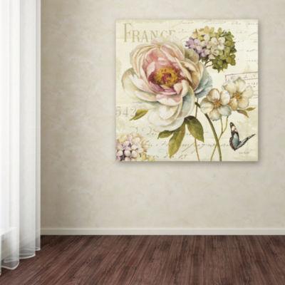 Trademark Fine Art Lisa Audit Marche de Fleurs IIIGiclee Canvas Art