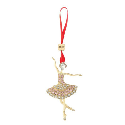 Monet Jewelry 2018 Ballerina Christmas Ornament