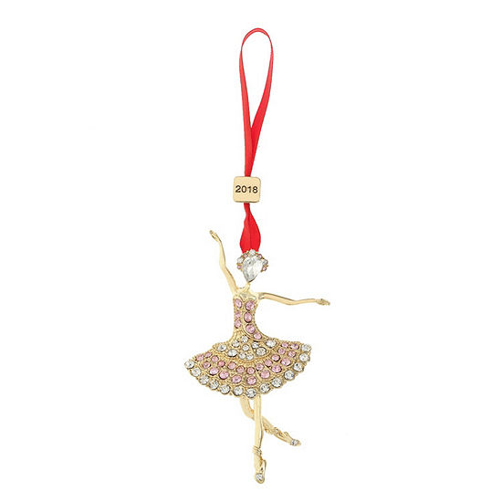 monet jewelry 2018 ballerina christmas ornament