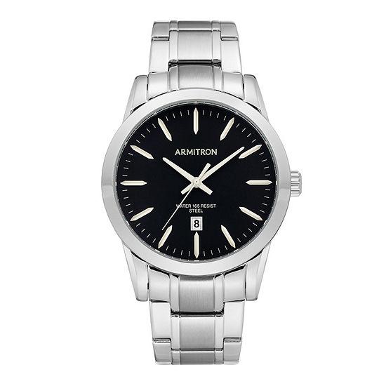 Armitron Unisex Silver Tone Bracelet Watch-20/5294bksv
