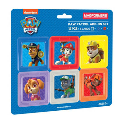Magformers Paw Patrol 12PC Add-on Set