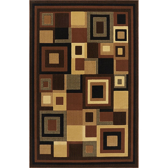 Home Dynamix Catalina Virginia Geometric Rectangular Rug