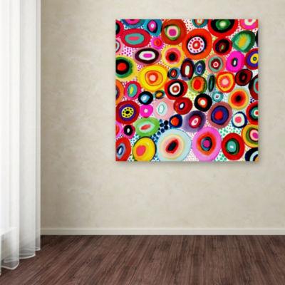 Trademark Fine Art Sylvie Demers Tourbillons Giclee Canvas Art