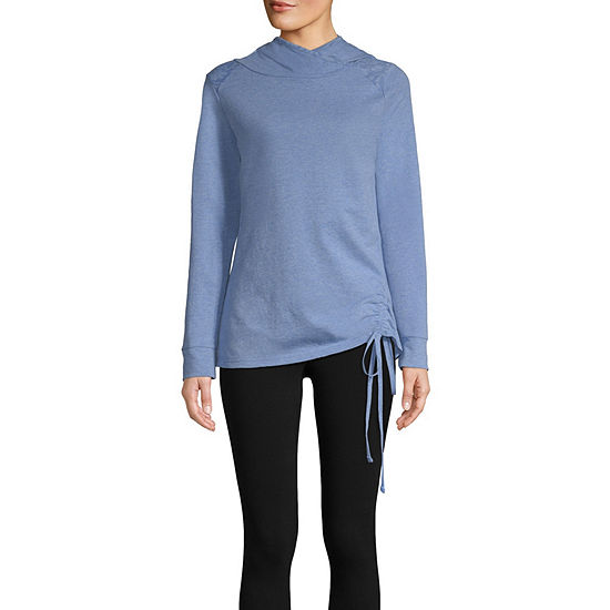 St. John's Bay Active Hooded Cinched Pullover