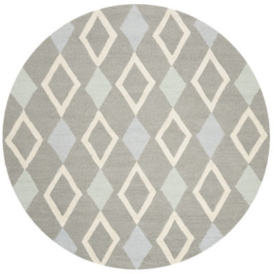 Safavieh Kids Collection Naples Geometric Round Area Rug