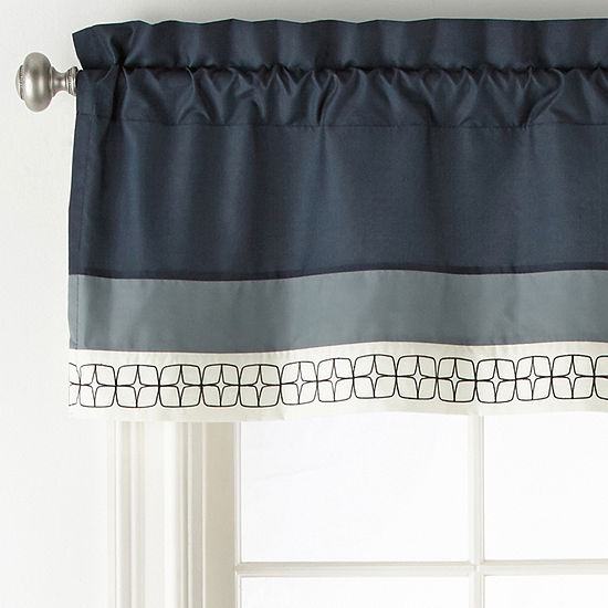 JCPenney Home Emmett Rod-Pocket Tailored Valance