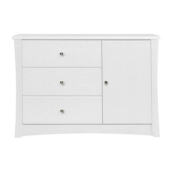 Storkcraft Crescent 3 Drawer Combo Dresser