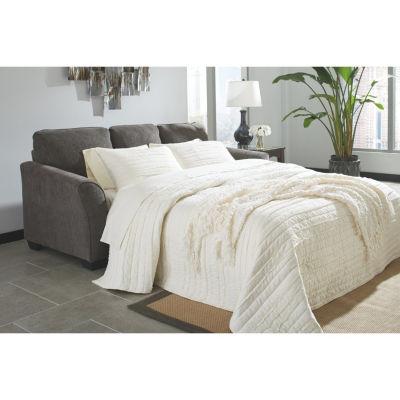 Signature Design By Ashley® Brise Queen Sofa Chaise Sleeper