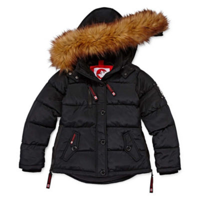 Canada Weather Gear Heavyweight Quilted Jacket- Girls 4-16