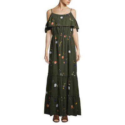 a.n.a Tiered Cold Shoulder Maxi - Tall