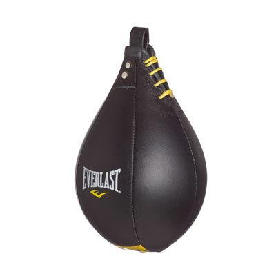 Everlast Leather Speed Bag Black Large