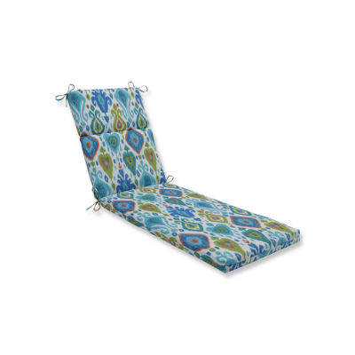Pillow Perfect Paso Caribe Patio Chaise Lounge Cushion
