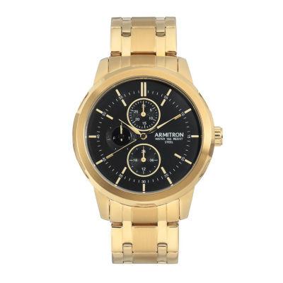 Armitron Unisex Gold Tone Bracelet Watch-20/5314bkgp
