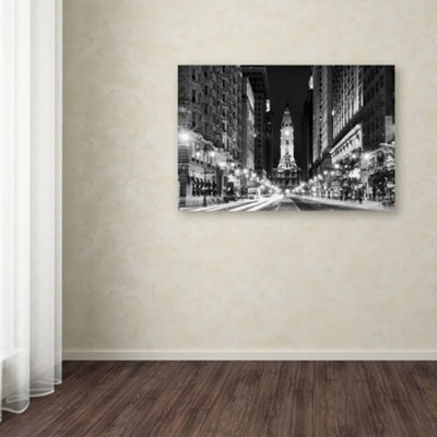 Trademark Fine Art Phillipe Hugonnard City Hall Philadelphia Giclee Canvas Art