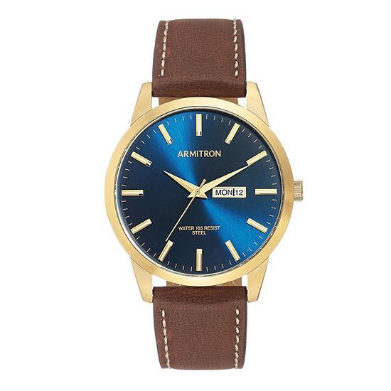 Armitron Unisex Brown Strap Watch-20/5311nvgpbn