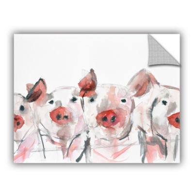 Pigs Removable Wall Decal