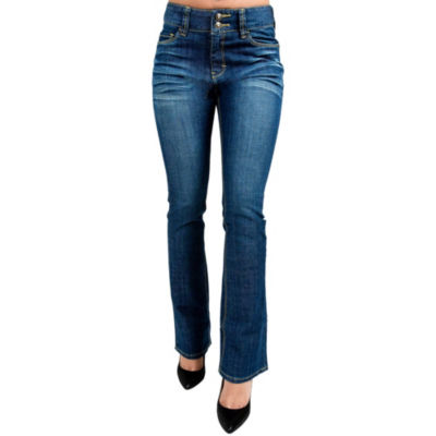 Miss Halladay Stretch Skinny Bootcut Jeans