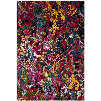 Safavieh Kyleigh Abstract Shag Rectangular Rugs