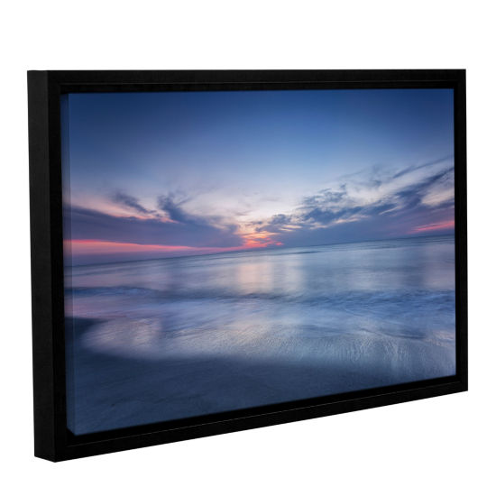 Brushstone Atlantic Sunrise No.7 Floater-Framed Gallery Wrapped Canvas