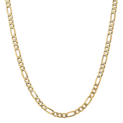 Solid Figaro 18 Inch Chain Necklace