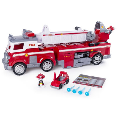 Ultimate Rescue Fire Truck With Extendable 2 Ft. Tall Ladder For Ages 3 And Up