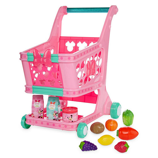 Disney 11-pc. Minnie Mouse Shopping Cart Playset