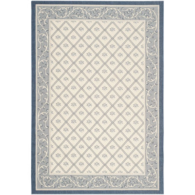 Safavieh Courtyard Collection Vernon Oriental Indoor/Outdoor Area Rug