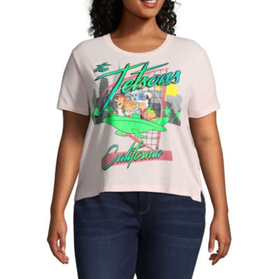 The Jetsons Cropped Tee - Juniors Plus