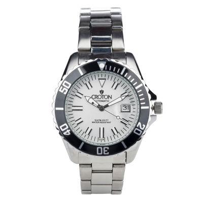 Croton N/A Womens Two Tone Bracelet Watch-Cn207598ttpv