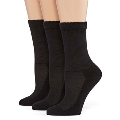 Berkshire Hosiery 3 Pair Crew Socks - Womens