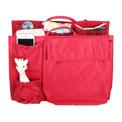 Life in Play ToteSavvy Diaper Bag Alternative - Luxe Red