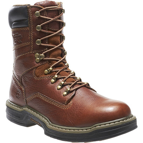 Wolverine Mens Raider Slip Resistant Work Boots